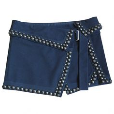 Black studded Isabel Marant mini skirt