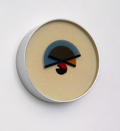 Clock design by Bruno Munari