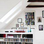 3 Refined Tips AND Tricks: Attic Hangout Couch attic house closet.Attic Apartment Built Ins attic house libraries. Home Design, Attic Design, Interior Design, Attic Playroom, Attic Loft, Attic Ladder, Attic Renovation, Attic Remodel, Small Space Living