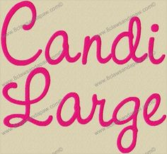 Hey, I found this really awesome Etsy listing at http://www.etsy.com/listing/82125496/candi-large-machine-embroidery-font