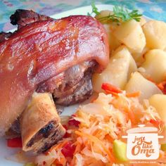 Learn how to make pork hocks the German way. First cooked on the stove, then finished off in the oven for a wonderful Oktoberfest experience! Here's how: http://www.quick-german-recipes.com/pork-hocks-recipe.html Like it! Share it! Pin it! Make it! Enjoy it!