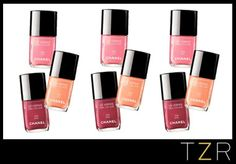 Chanel Le Vernis Nail Colours in April, May and June