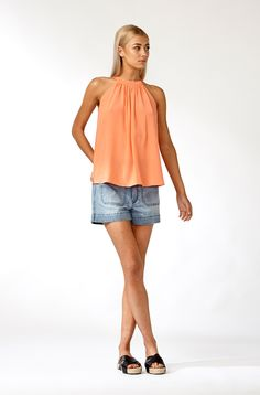 The best of what's new! Shop the Misha Halter Top in stores and online now www.decjuba.com.au