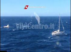 """Soccorsa imbarcazione a vela durante la """" Giraglia Rolex Cup """" (VIDEO)"""