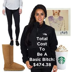 Total cost to be a basic bitch for Halloween this year: $474.38 | How To Dress Like A Basic Bitch For Halloween