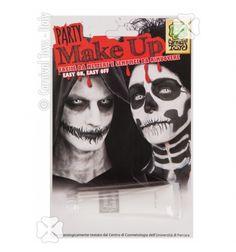 Machiaj alb Halloween