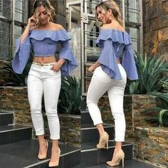 Best Summer Fashion Part 2 Casual Chic, Casual Wear, Casual Outfits, Girl Fashion, Fashion Dresses, Fashion Looks, Womens Fashion, Paris Fashion, Fashion News