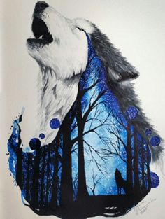 Tattoo Sketches 744923594584587564 - loup aquarelle Source by loulouberenice Amazing Drawings, Cool Drawings, Amazing Art, Dragon Drawings, Amazing Tattoos, Beautiful Drawings, Animal Drawings, Pencil Drawings, Drawings Of Wolves