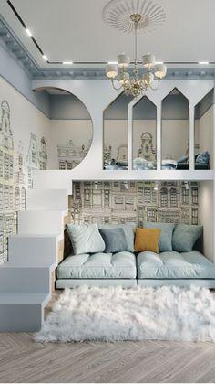Luxury Kids Bedroom, Modern Kids Bedroom, Kids Bedroom Designs, Kids Room Design, Home Room Design, Dream Home Design, Modern Room, Kids Bedroom Furniture, Bedroom Ideas