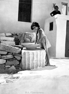 Paros, Greece, 'Serstevens, Le Périple des archipels grecs, εκδόσεις ARTHAUD, 1963.