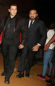 Salman Khan at Chiranjeevi's birthday bash. #Bollywood #Fashion #Style #Handsome
