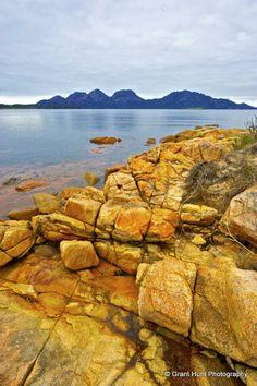 #321 - View to the Hazards, Freycinet, Tasmania