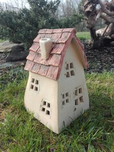 Keramický domeček
