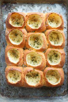 CHEESY GARLIC BREAD AND MEATBALL ROLLSReally nice recipes. Every  Mein Blog: Alles rund um die Themen Genuss & Geschmack  Kochen Backen Braten Vorspeisen Hauptgerichte und Desserts