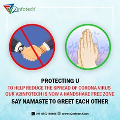 We are trying to do everything to minimize coronavirus transmission, the most obvious and easiest thing to do in our opinion, which is to stop shaking hands. Let's greet and make our zone a Contact us: 8750070404 Professional Seo Services, Website Development Company, Seo Agency, Digital Marketing Services, Namaste, Hands, Let It Be