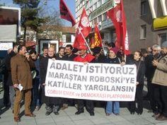 Maraş ve Roboski katliamını protesto