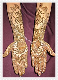 Cute design for mehndi