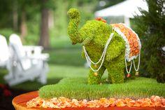 indian wedding centerpieces   Loverly Weddings
