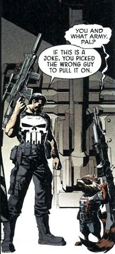 Punisher vs Rocket Raccoon