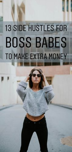 "Ready to start investing in yourself? Take two minutes to learn about all the ways you boss babes can start earning extra cash on the side. They're ""The Smart Wallet"" approved :wink: Earn Money From Home, Way To Make Money, How To Make, Earn Extra Cash, Extra Money, Money Tips, Money Saving Tips, Inspiration Entrepreneur, Money Matters"