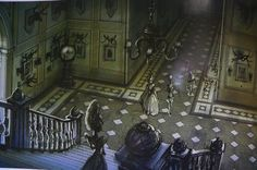 Corpse Bride concept drawings