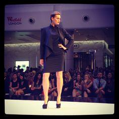Yasmin Le Bon owning the stage! #VFNO #westfieldlondon