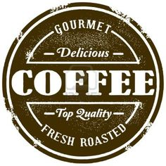 """Find """"gourmet coffee"""" stock images in HD and millions of other royalty-free stock photos, illustrations and vectors in the Shutterstock collection. Thousands of new, high-quality pictures added every day. Logos Vintage, Café Vintage, Vintage Stamps, Vintage Fashion, Vintage Style, Vintage Food, Vintage Labels, Coffee Shop Logo, Coffee Branding"""