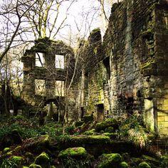 Disused mill Hebden Bridge
