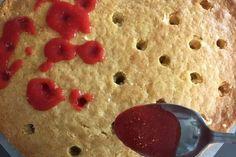 A La Prova del cuoco: Poke cake alle fragole   Tempodicottura.it