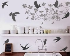 Awesome wall stencil!