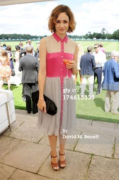 Beautiful actress Tuppence Middleton loves our SS13 collection & wears our Serene Life Dress!