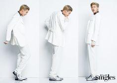 Rap Monster (BTS) - Singles Magazine January Issue '16