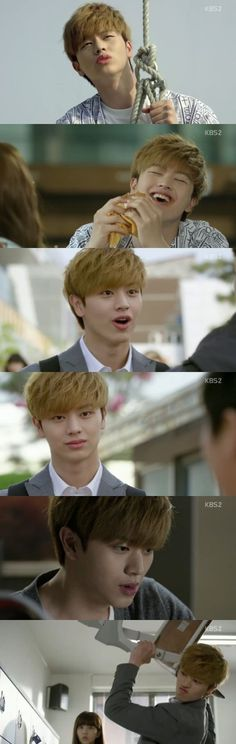 Sungjae Yook in 'School 2015'