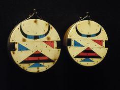 Zulu ear-discs c1950, Iziko South African Museum, Cape Town.