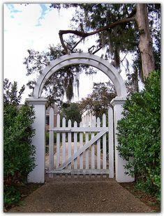 Melrose Gate At Natchez National Historical Park (Melrose Plantation), Natchez, Mississippi