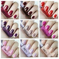 The One Long wear Nail Polish Oriflame  Variedad de colores a la moda  Www.facebook.com/AleSalasmx
