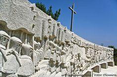 Altar Comemorativo da Batalha de Aljubarrota - Campo de São Jorge - Portugal