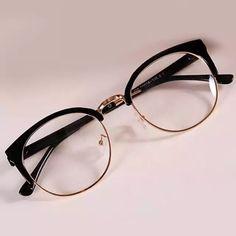 3ab255e8b2 Monturas para lentes · Vintage de las mujeres de la moda gafas miopía retro  óptico gafas de diseño de marca