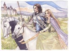 Robb Stark and Jayne Westerling - Song of Ice and Fire