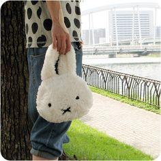 i am so gay that i want this miffy bag. #fashions #bunnies