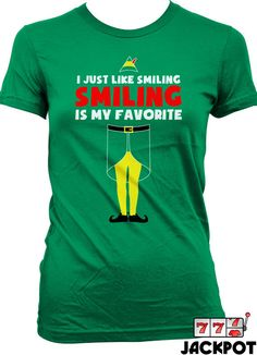 6fa70c45 Buddy The Elf T Shirt Christmas Shirt I Just Like by JackPotTees Christmas  2019, Christmas