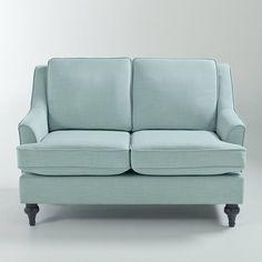 Canapé 2 places Belva La Redoute Interieurs : prix, avis & notation, livraison.  Canapé 2 places Belva : un canapé compact, 80% polyester, 20% lin. Confortable, bien profond, réalisé avec des matériaux de haute qualité et avec une finition irréprochable, ce canapé sera la pièce majeure de votre séjour !Dimensions du canapé 2 places Belva :2 places fixe :Hors tout L132 x H90 (avec coussins dos/83,5 (sans coussins dos) x P91 cmLargeur 107 cmHauteur : 49 cmProfondeur : 53 cmDescription du…