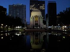 Hyde Park Memorial + Pool Of Reflection