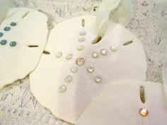 Seashell Christmas Ornaments Beach Decor by SomethingBeachyStore