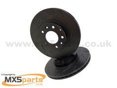 Front Brake Discs, EBC Ultra Quiet Sports, MX5 Mk3 3.5