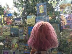 Imagen de pink, hair, and grunge Dye My Hair, Scene Hair, Hair Inspo, Hair Inspiration, Short Grunge Hair, Aesthetic Hair, About Hair, Pink Hair, Pretty Hairstyles