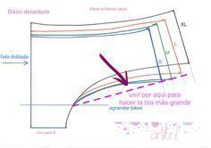PatternMaker Tutorial Web Site - Her Crochet Corset Underwear, Underwear Pattern, Lingerie Patterns, Sewing Lingerie, Bra Pattern, Bikini Pattern, Pants Pattern, Clothing Patterns, Sewing Clothes