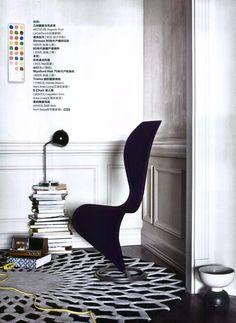 Elle Decoration China - S-Chair, design Tom Dixon