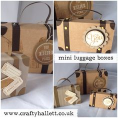 Hi there Hope you love these cute little boxes Imade a while ago. I promised then that I would make a video for them, and then my video equipment broke so the video was put on hold. Luckily I now...