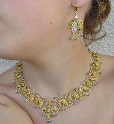 Resultado de imagen de bijoux en dentelle aux fuseaux livre